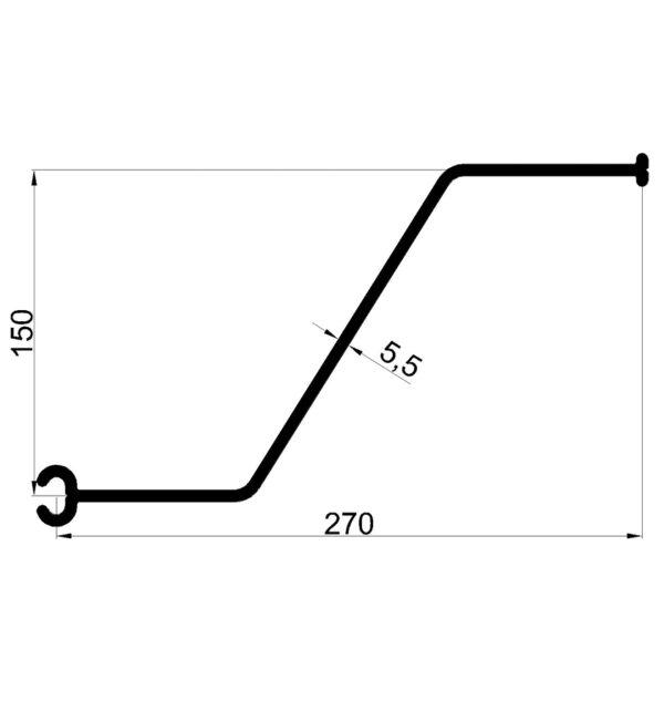 Z-profiel-270-5,5